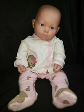 """Berenguer Baby Doll 20"""" Smiling Cute Pink Outfit Blue Eyes, real newborn weight."""