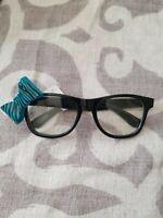 Claires Fashion Glasses q/Leopard Bow
