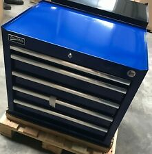 "NEW WILLIAMS BLUE 27"" ROLL CAB 5 DRAWER TOOL BOX RACE RALLY WORKSHOP TOOLS"