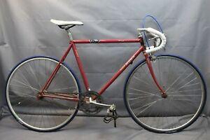 1987 Raleigh Technium 420 Single Speed Bike 54cm Small Shimano RSX USA Charity!!