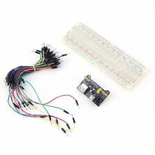 Mb-102 830 Point Breadboard+65pcs Jump Cable Wires+Power Supply Kit for Arduino