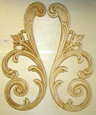 EMBOSSED WOOD APPLIQUE / ONLAY # 012 7 1/8 X 17 1/4