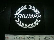 TRIUMPH Aufnäher Patch TRIUMPH Correctifs Parches TRIUMPH Патчи 7,7x7,2 cm IRON