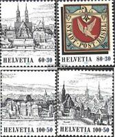 Schweiz 1554-1557 (kompl.Ausg.) postfrisch 1995 Basler Taube 95