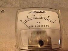 Vintage Used Micronta Meter - DC Milliamperes - Untested - VGC