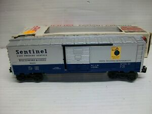 O Scale Lionel 6-9420 B&O Sentiner Box Car LN/Box
