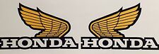 2X Honda wing #2 Laminated Logo Vinyl Decal Car Truck Window Sticker Motorcycle