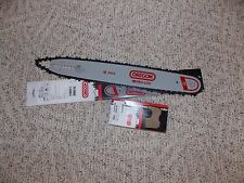 "18"" Oregon chainsaw guide bar 180SLHD009 & 72LGX068G chain combo 3/8 pitch .050"