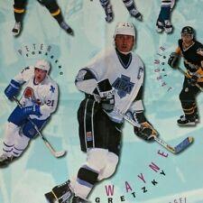 NHL1995 UPPER DECK ADVERTISING POSTER  35X22 (originally folded) GRETZKY BURE+++