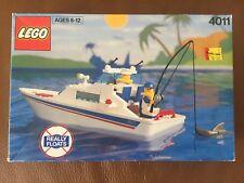 "Lego 4011 ""CABIN CRUISER"" Boat Set  1991 new sealed RARE!!"