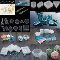 Multi Designs SILICONE MOULDS For Pendant Jewelry Making Tools Resin Craft Mold