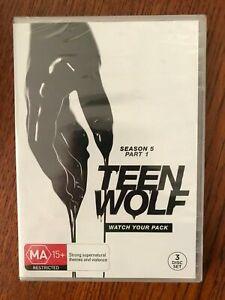 Teen Wolf: Season 5 Part 1 DVD New & Sealed Region 4