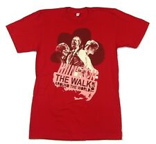 Hanson Walk Around The World Tour 2008 Red T Shirt Small New Official Band Merch