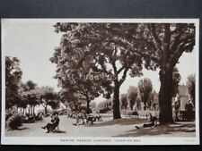 Essex: Leigh on Sea MARINE PARADE GARDENS - Old PC by Raphael Tuck & Sons LS 4