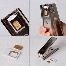 In 1 Cut Cutting For Mobile Phone Micro Regular Adapters Nano SIM Card Cutter