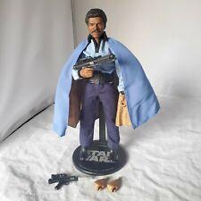 "SIDESHOW STAR WARS Lando Calrissian 12"" 1/6 ACTION FIGURE REBELLION LOOSE"