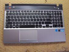 "Samsung NP550P5C-A02UB 15.6"" Palmrest Touchpad Keyboard Speakers BA75-03738A"