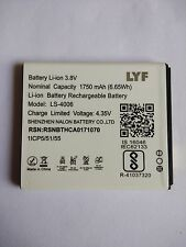 Original LS-4006 Battery for LYF Flame 7 with 1750 mAh 4.35V