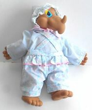"""Vintage Uneeda Doll Co. ~ BABY DINOSAUR ~ Land Before Time ~ 17"""" Hard Face Plush"""