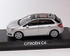 Citroen C4, Silver Metallic, 2010, NOREV 1:43