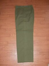 GENUINE U.S MILITARY MODEL 51 WOOL FIELD PANTS OD GREEN SMALL REGULAR