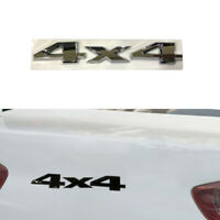 3D 4x4 Logo Car SUV Sticker Off Road Rear Body Metal Emblem Badge Accessories