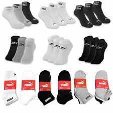 PUMA SOCKEN Quarter Sneaker Socken Sport Uni- Füßlinge 3 6 9 12 15 18 BAUMWOLLE