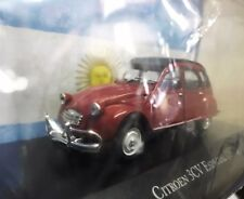 1972 Citroen 3cv Special Argentina our cars collection 1/43 Salvat