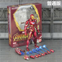 S.H.Figuarts SHF Avengers Infinity War IRON MAN MK50  6'' PVC Figure New In Box