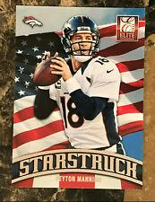 Peyton Manning 2013 Elite Starstruck Silver #8 Broncos, Colts, TN Volunteers