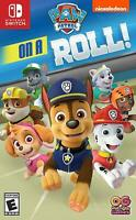 Paw Patrol on a Roll Nintendo Switch Nickelodeon Brand New