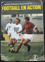 100% COMPLETE FRANCE AGEDUCATIFS FOOTBALL EN ACTION 1971-72 STICKER ALBUM