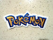 Pokemon Patches Embroidered Cloth Applique Badge Iron Sew On Pikachu