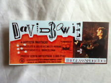 DAVID BOWIE CONCERT TICKET BARCELONA  8 JULY 1987 Glossy Reproduction