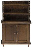 Dollhouse Miniatures 1:12 Scale Hutch, Walnut #CLA10915