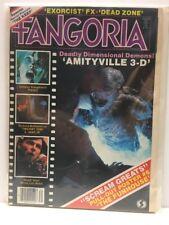 FANGORIA # 31  Amityville, Jaws, Exorcist FX, Twilight Zone 1983 Horror Magazine