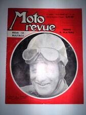 MOTO REVUE N°1516 19 NOVEMBRE 1960 / FREINS A PLATEAU - JACQUES INSERMINI