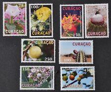 CURACAO 2012  SERIE  ++ FLORA BIRDS FLOWERS FLEUR  ++  MNH POSTFRIS **