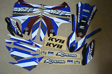 FLU  TS1 TEAM GRAPHICS & BACKGROUNDS YAMAHA YZ450F YZF450  2010  2011 2012  2013