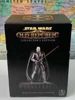 """SHIPS SAME DAY Star Wars The Old Republic Darth Malgus Statue 9"""" Gentle Giant"""