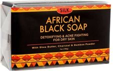 African Black Soap 7oz for Acne, Eczema, Dry Skin, Psoriasis, Scar Removal, Face
