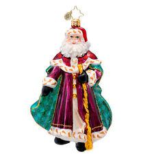 Christopher Radko - Winterland Wanderer - Santa - Retired Ornament 1017099