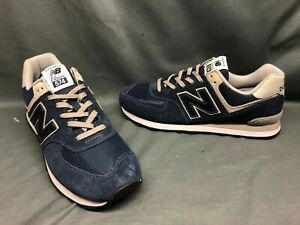 New Balance 574 Blue Athletic Shoes for