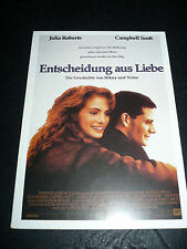 DYING YOUNG, film card [Julia Roberts, Campbell Scott]