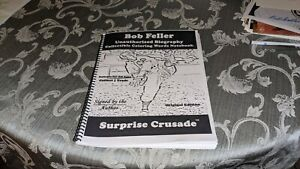 Bob Feller Cleveland Indians Homemade Coloring Book Signed by The Author