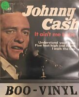JOHNNY CASH - IT AIN'T ME BABE 7'' VINYL RARE RECORD EX+ Con