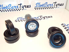 8 pneus pour Scalextric 1/24 Alfa Roméo ou Jaguar