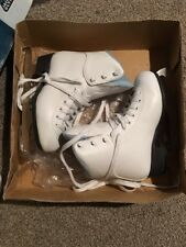 Nib New Youth Girls 3 Ice Figure Skates Jackson Ultima Soft Skate Padded Boot