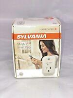 SYLVANIA SMART + ZigBee Indoor Smart Plug, White, Plug Only, Smart Hub Required