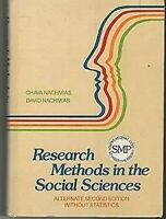 Research Methods Para Social Sciences: Alternativa Segunda Edición Sin Stat